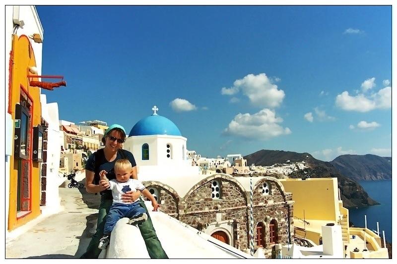Santorini, Grecia 2002
