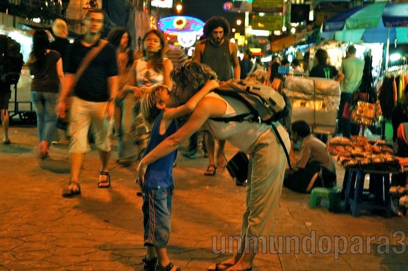 Bangkok - Kao San fiesta - unmundopara3