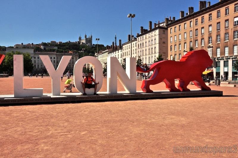 Un día en bicicleta por Lyon.