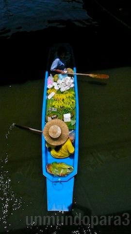 Mercado Flotante Damnoen Saduak II - unmundopara3