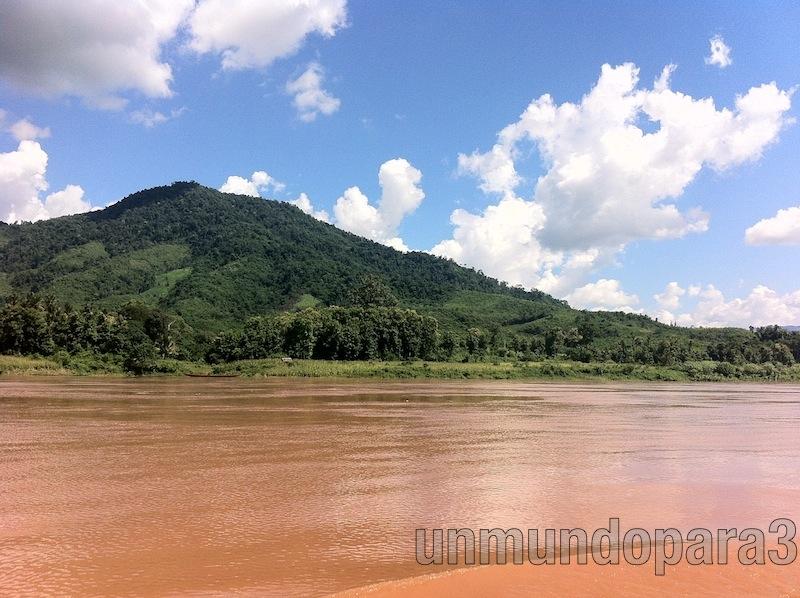 Laos visto desde Tailandia
