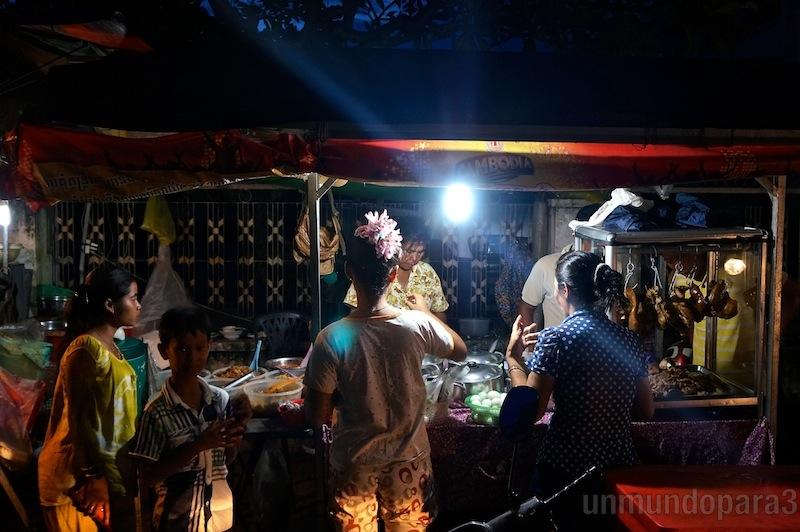 Mercado nocturno - Kratie