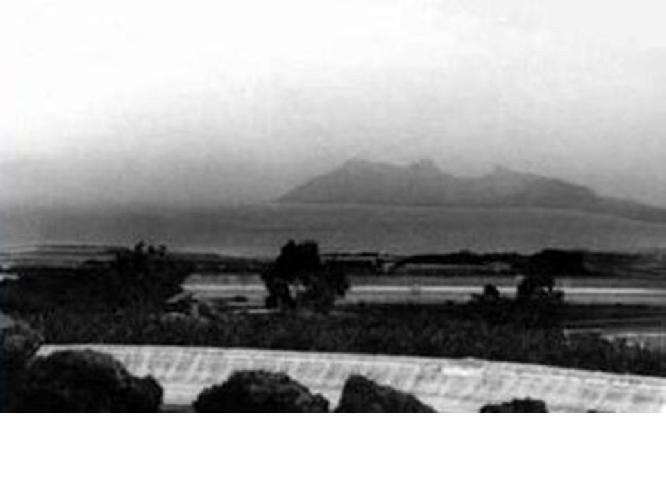 Fotografía tomada en La Palma por D. Manuel Rodríguez Quintero una tarde de verano de 1957 ó 1958.