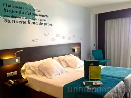Habitación Hotel Costa Azul