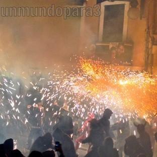 Correfocs, Sant Sebastià 2014