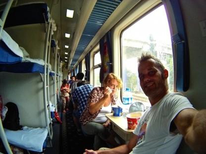 China en tren