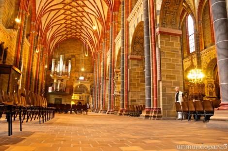 Interior dela Catedral de Bremen