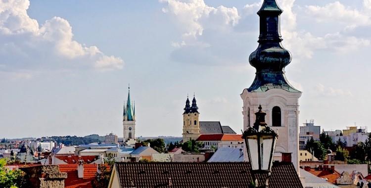 Importacia histórica de Nitra en sus edificios