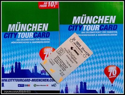 llegar y salir de Munich
