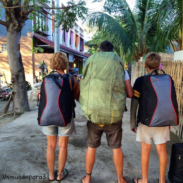 viajar con hijos