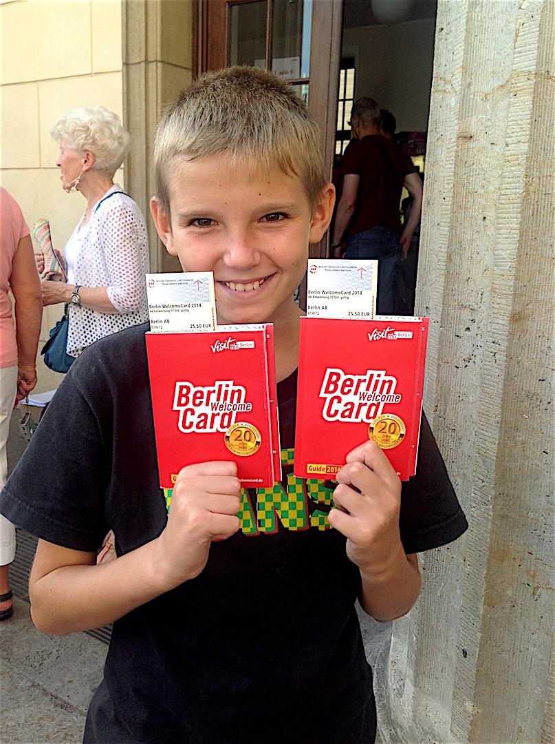 Berlin con adolescentes