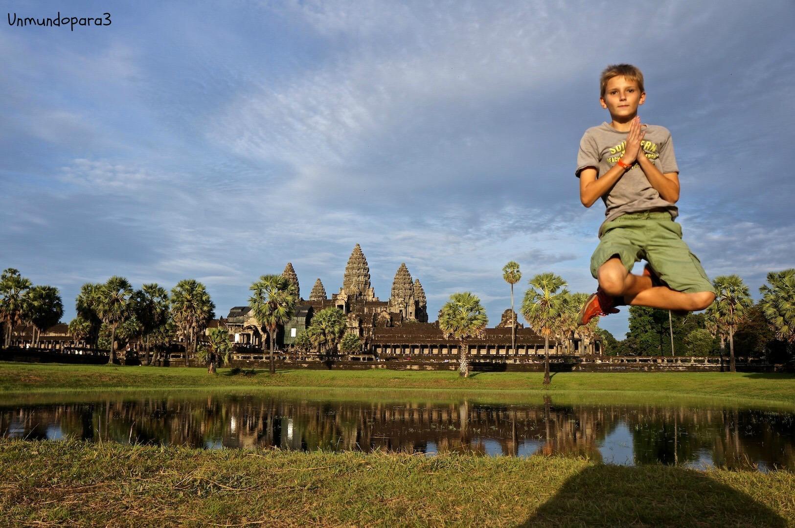 Camboya con niños
