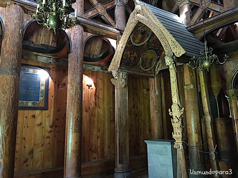 iglesia de madera de Hopperstad