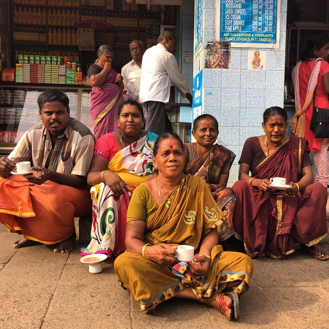 Gente maravillosa en #kerala #India #keralaBlogExpress