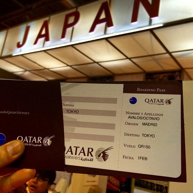 Quiero viajar a #Japon con #vueloQatarAirways espero me toque.