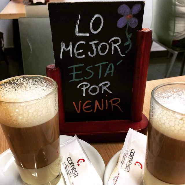 Hora del barraquito!! #barraquito #Tenerife #Canarias
