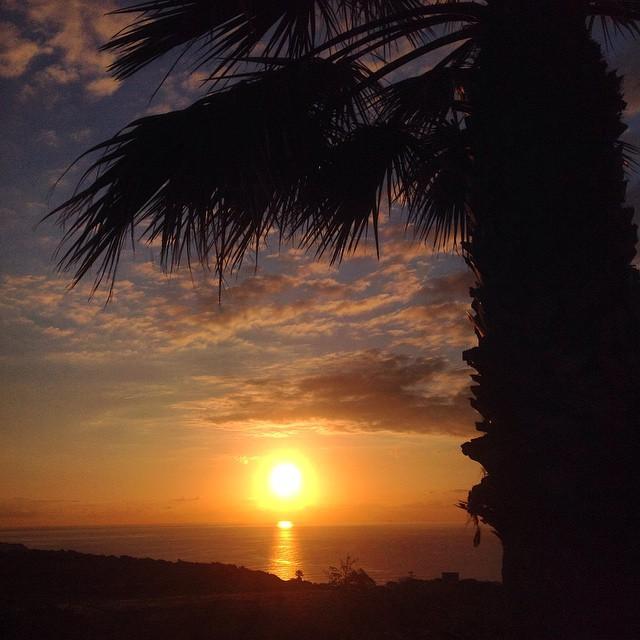 Buenos días amigos y feliz semana! #sunset #sunrise #Tenerife #Canarias #photooftheday