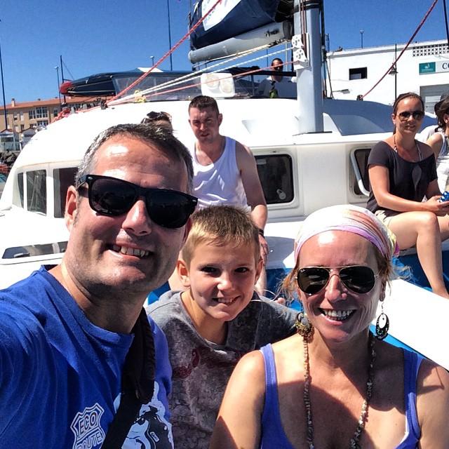 De crucero en catamaran a Isla de Lobos con @fuertecharter #Fuerteventura #oasisparkexperience #Canarias #viajacontuhijo #viajesenfamilia