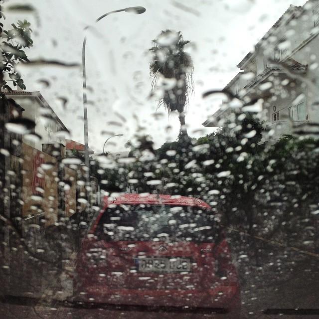 Siguen las lluvias en #SantaCruzdeTenerife #Tenerife #Canarias