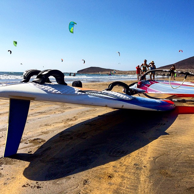 Simplemente #Windsurf #ElMedano #playa #beach #surf #tenerife #travel #instagram #instagood #Canarias