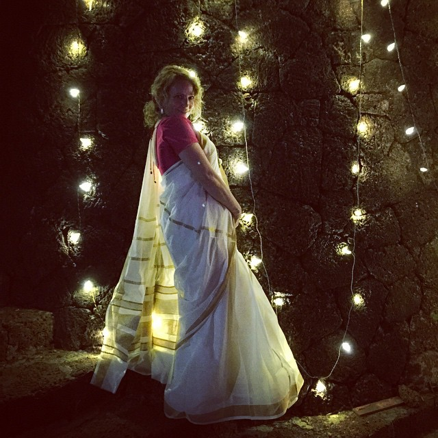 Like a Princess in the @raviz_xperience #keralaBlogExpress #Kerala #India