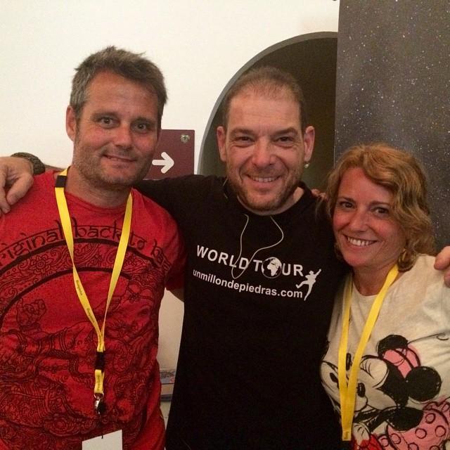 @MiquelSilvestre un gran viajero y mejor persona en #TBMPlasencia #Plasencia #Extremadura