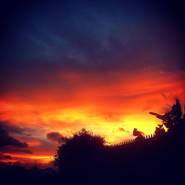 Despues de la tormenta, parece que llega la calma a #Tenerife #Canarias #sunset #sunrise #quesuerteviviraqui