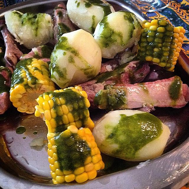 Finde lluvioso en Tenerife... O eso dicen y porsi... Comida tradicional. #gastronomia #Tenerife #Canarias #qbuenoqllueva