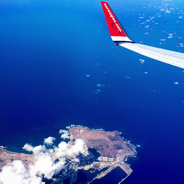Gran Canaria vista desde @fly_norwegian hace unos minutos! #Munchentrip #fly #pics #photo #instagram #instagood