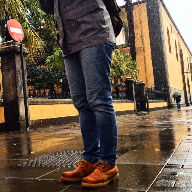 Pasear por #LaLaguna en días de lluvia es una gozada! @panamajackboots #Tenerife #Canarias