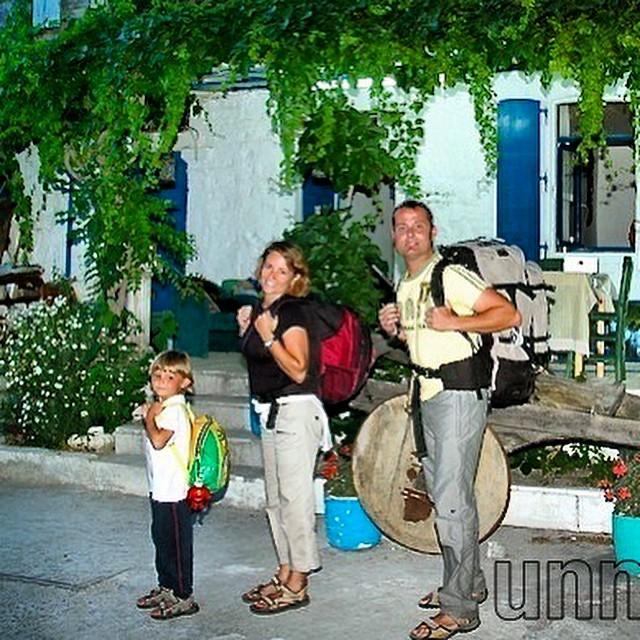 También viajamos de #mochileros por #Turquia #año2006 recorriendo #Anatolia interior. #Foça #Turkey #viajacontuhijo #viajarsingluten #viajesenfamilia #travelwithkids #travel #paradise