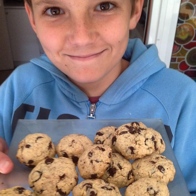 Mis primeras cookies caseras #SinGluten buenísimas