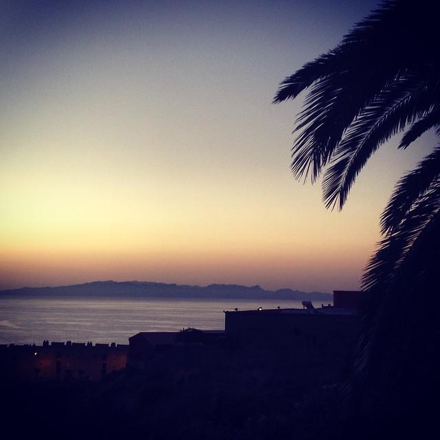 Buenos días, es domingo y tenemos tormenta. Feliz día!! #sunset #sunrise #Tenerife #Canarias