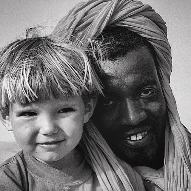 Blanco & Negro, #black&white #mezourga @alvaro417 #Marruecos