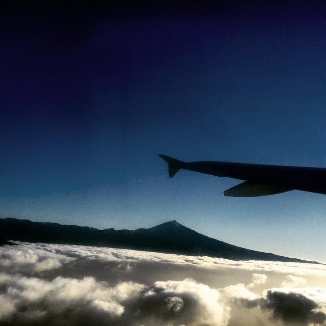 #ElTeide es bonito, lo mires por donde lo mires  #Tenerife #Canarias #keralaBlogExpress #kerala #India