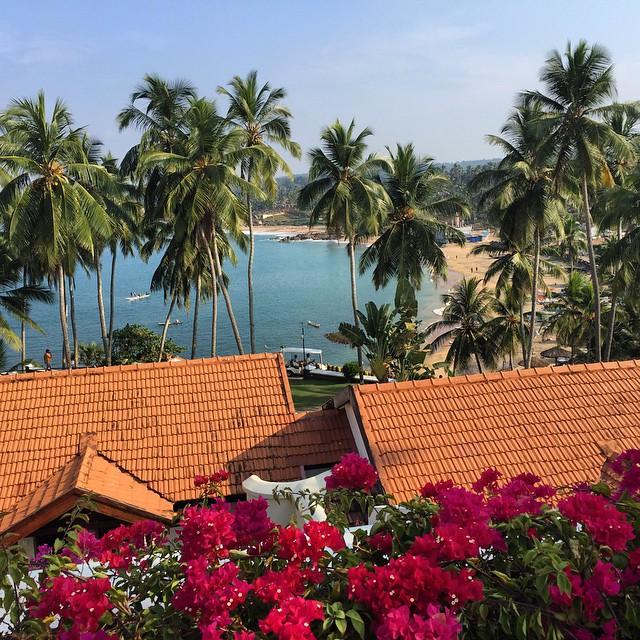Desde la terraza de mi habitación en el #TheLeelaHotel en #Kovalam El paraíso también está en Kerala