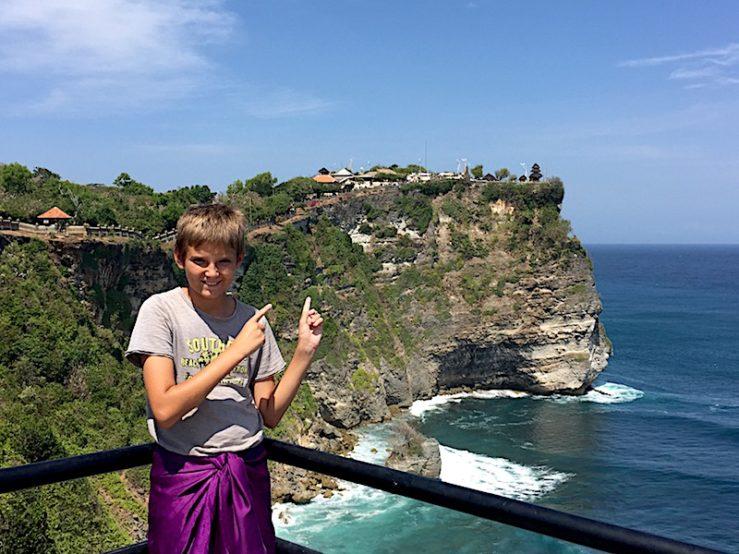 Bali en familia